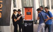 Orange - street marketing - animation - Groupe NON STOP MEDIA