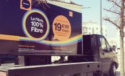 Camion Affi'led pour Orange avec NON STOP MEDIA Centre