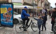 Affichage mobile du Bike'Com® pour Play mobil avec NON STOP MEDIA Centre