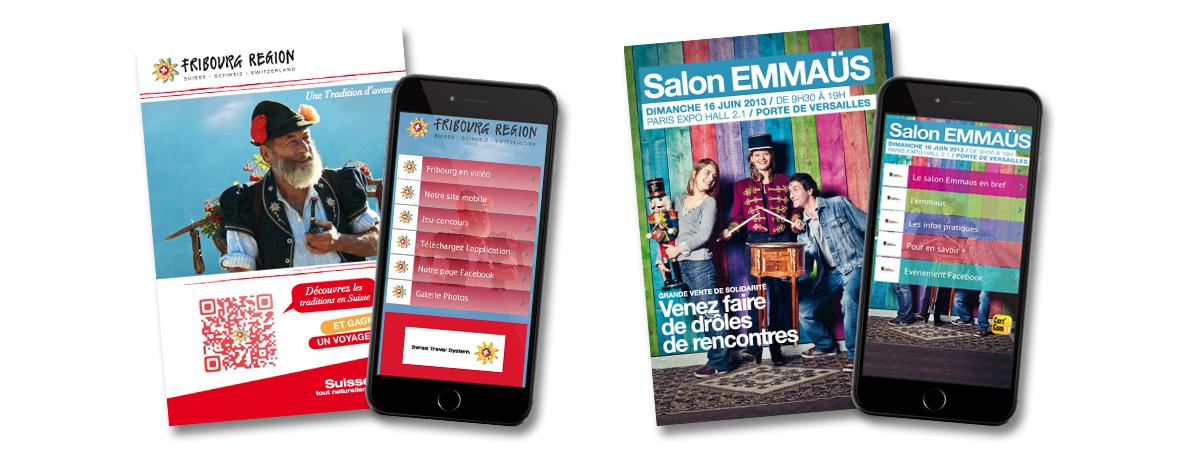 Smart'Cart de Cart'com - Impression carte postale publicitaire interactive avec QR Code - NON STOP MEDIA Centre - Val de Loire