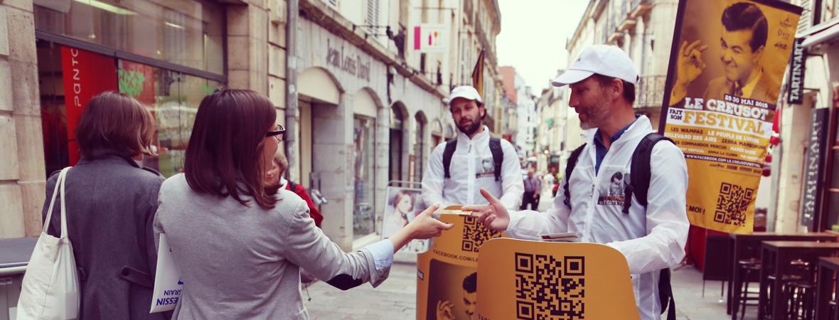 Le Creusot fait son festival - Affichage mobile - Diffusion et dépôt - Cart'Com - NON STOP MEDIA Grand Est