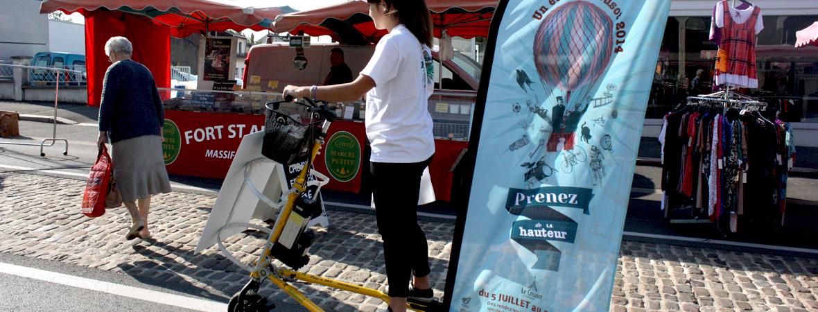 un été au creusot - affichage mobile - cart'com - street marketing - NON STOP MEDIA Grand-Est