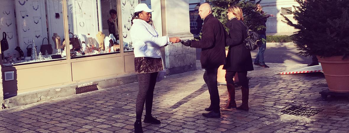 Comtesse du Barry - Street marketing - NON STOP MEDIA Grand Est