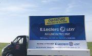 Affichage mobile en camion pour E.Leclerc - NON STOP MEDIA Grand Est