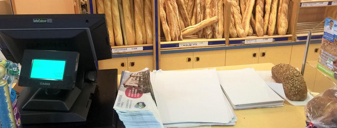 Diffusion sac à baguette publicitaire pour Icade avec NON STOP MEDIA Grand Est