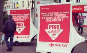 Carrefour Market - affichage mobile - Groupe NON STOP MEDIA