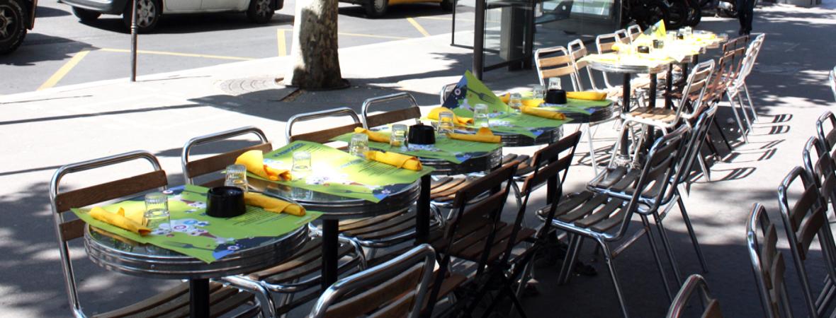 Périgord à Montmartre - Medias Tactiques - Street Marketing - NON STOP MEDIA Île de France