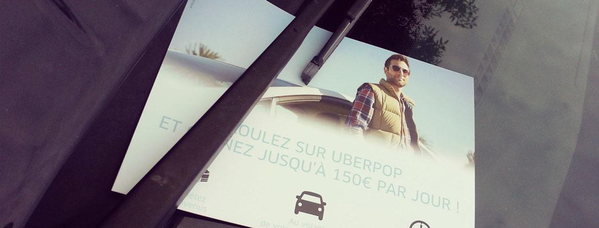 Uber - Distribution et dépôt - Groupe NON STOP MEDIA