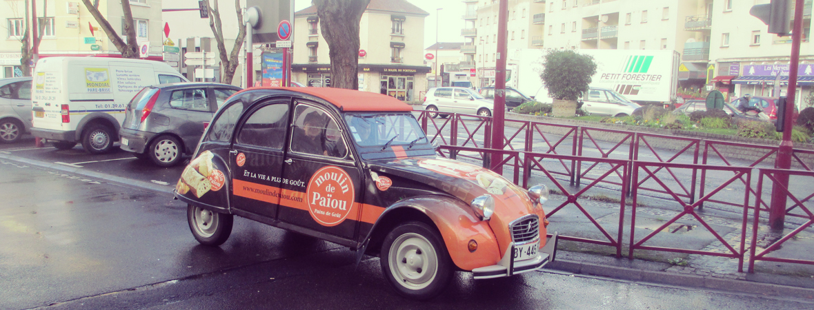 Moulin Paiou - Street Marketing -Affichage mobile - Groupe NON STOP MEDIA