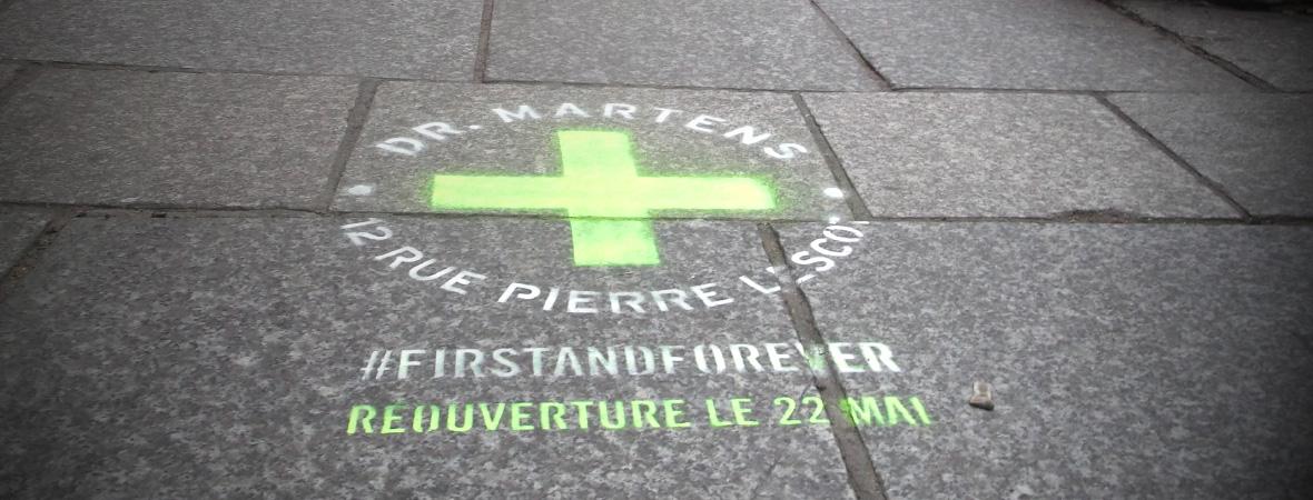 Des cleans tags pour Dr. Martens - NON STOP MEDIA Île de France