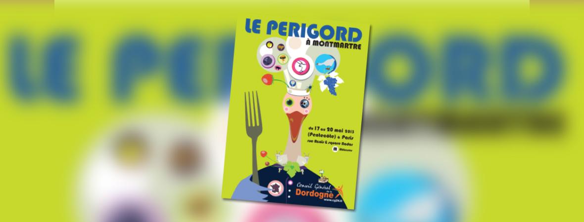 Distribution de Cart'Com pour Périgord à Montmartre - NON STOP MEDIA Île de France