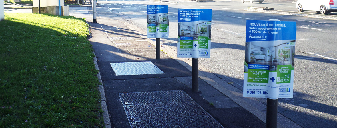 Street Marketing, une guérilla et signalétique urbaine - NON STOP MEDIA Île De France