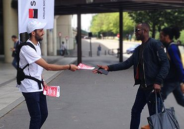 Déploiement street marketing pour Sogeprom