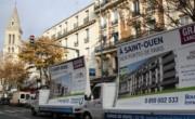 Défilé de camions publicitaire pour Bouygues Immobilier - NON STOP MEDIA Île de France