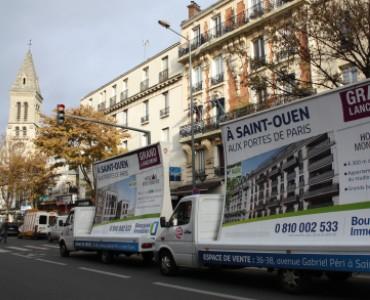 Bouygues Immo défile à Paris