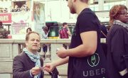 Ubereats - Street Marketing - NON STOP MEDIA Ile de France