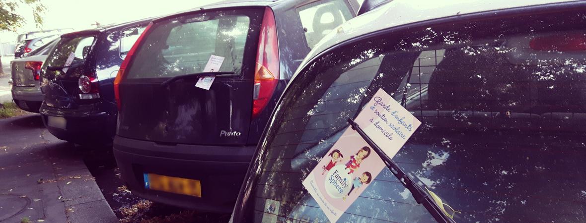 Family Sphere - Street Marketing - NON STOP MEDIA Ile de France
