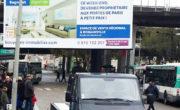 Le camion Affi'Led circule en ville pour le grand lancement de Bouygues Immobilier - NON STOP MEDIA Île de France