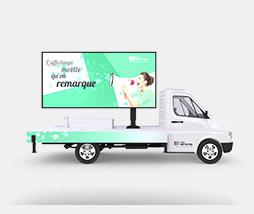 Affi'Led : L'affichage digital grand format ultra mobile.