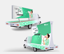 Affich'Mobile Panoramique : l'affichage mobile grand format pour émerger.