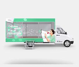ShowRoom mobile : Allez à la rencontre directe de vos clients.