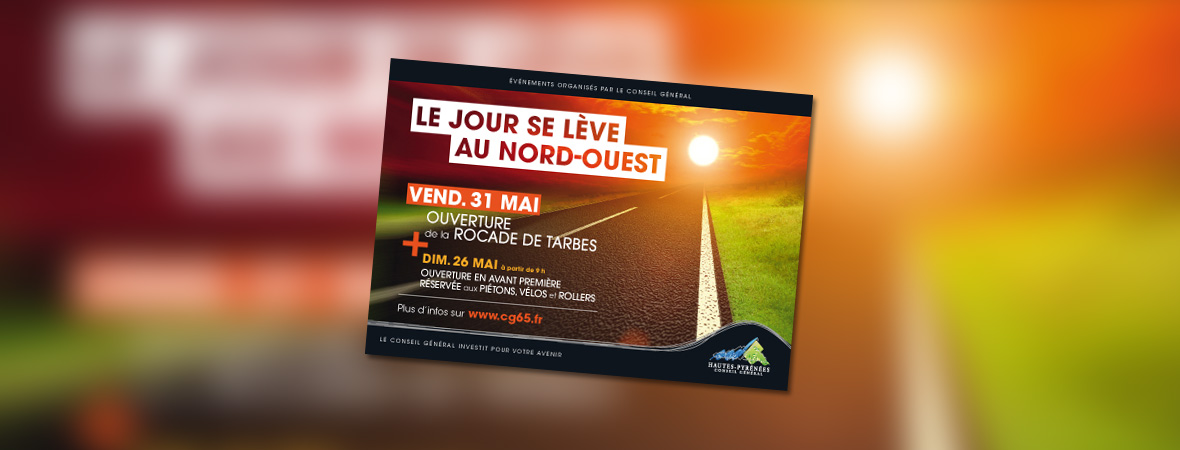 CG65 - Cart'Com - Street Marketing - Affichage mobile - NON STOP MEDIA Midi-Pyrénées