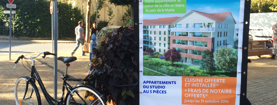 Bouygues Immobilier-street-marketing-affichage-mobile-depot-et-diffusion-non-stop-media-midi-pyrenees