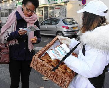 Bouygues, street et croissants
