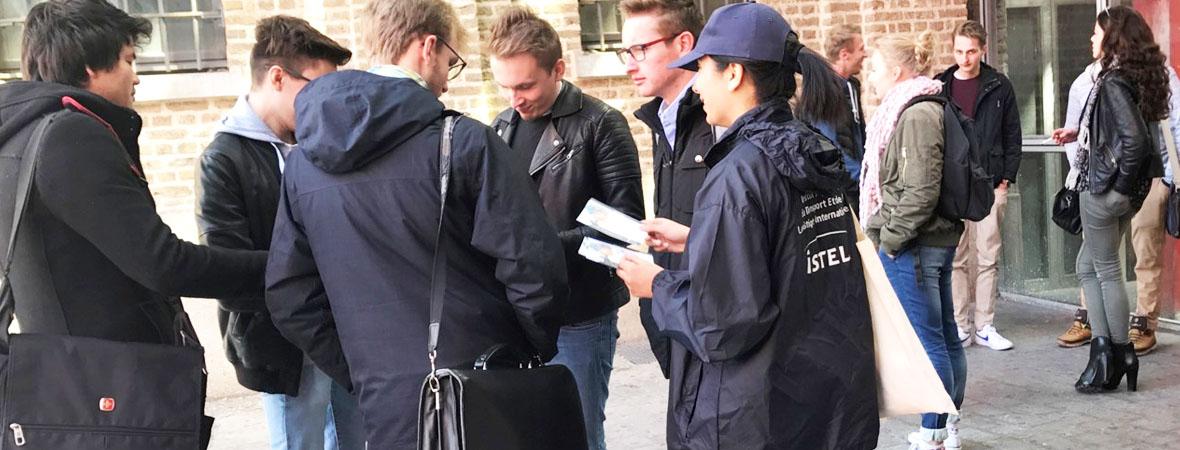 Distribution de cafés via drinkman pour Isteli avec NON STOP MEDIA Nord