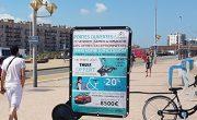 Sofida en affichage mobile Bike'Com - NON STOP MEDIA Nord