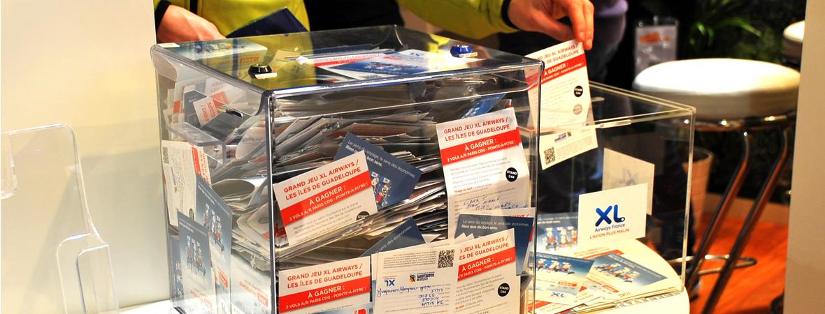 Dépôt de Cart'Com remplies dans l'urne pour XL Airways - NON STOP MEDIA Nord