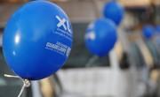 Une guérilla de ballons bleus pour XL Airways - NON STOP MEDIA Nord