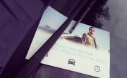 Diffusion de tracts publicitaires sur les pare-brises pour Uber - NON STOP MEDIA Nord