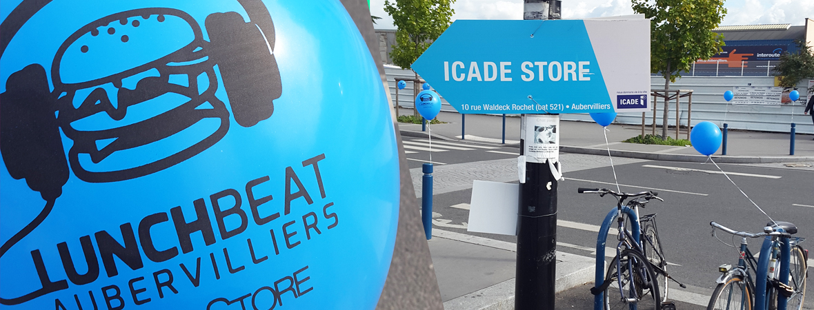 Icade Store - Affichage mobile - street marketing - Cart'com - NON STOP MEDIA Nord
