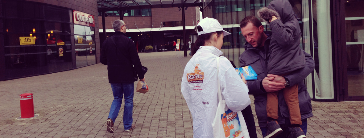 KidsParc - Street Marketing - NON STOP MEDIA Nord