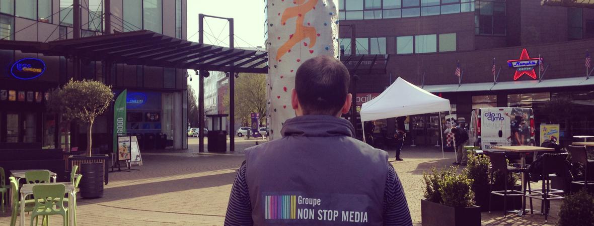 Heron Parc - Animation - affichage mobile- dépôt - NON STOP MEDIA Nord