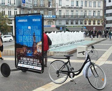 L'Opéra de Lille en Bike'Com
