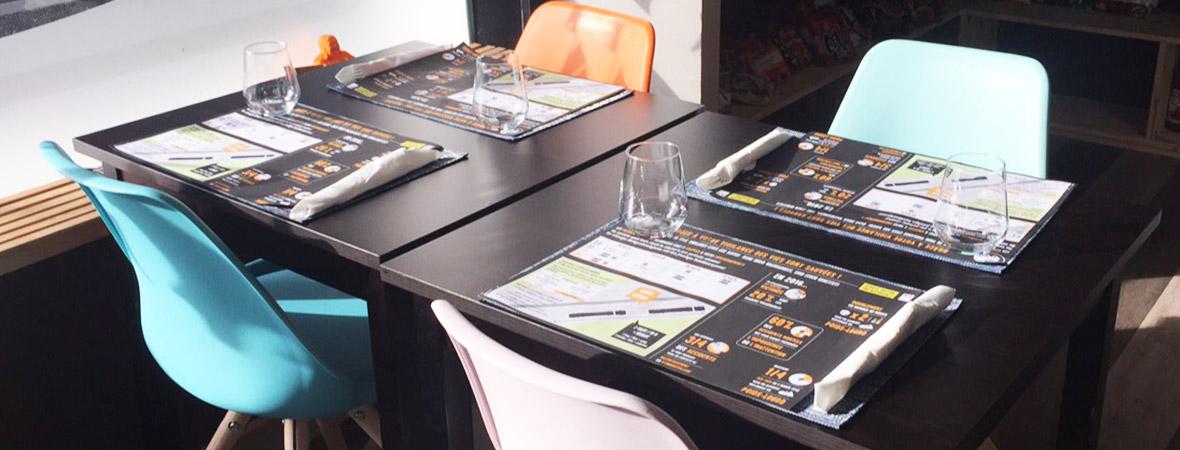 DDTM sensibilise via supports tactiques sets de table - NON STOP MEDIA Nord