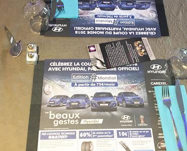 Hyundai avec les bleus !