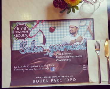 Le Salon Gourmand à table