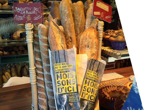 Sac à pain publicitaire personnalisé - NON STOP MEDIA Normandie