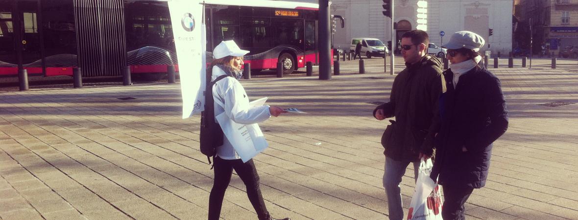 Active Tourer - Street Marketing - Distribution et dépôt - NON STOP MEDIA PACA