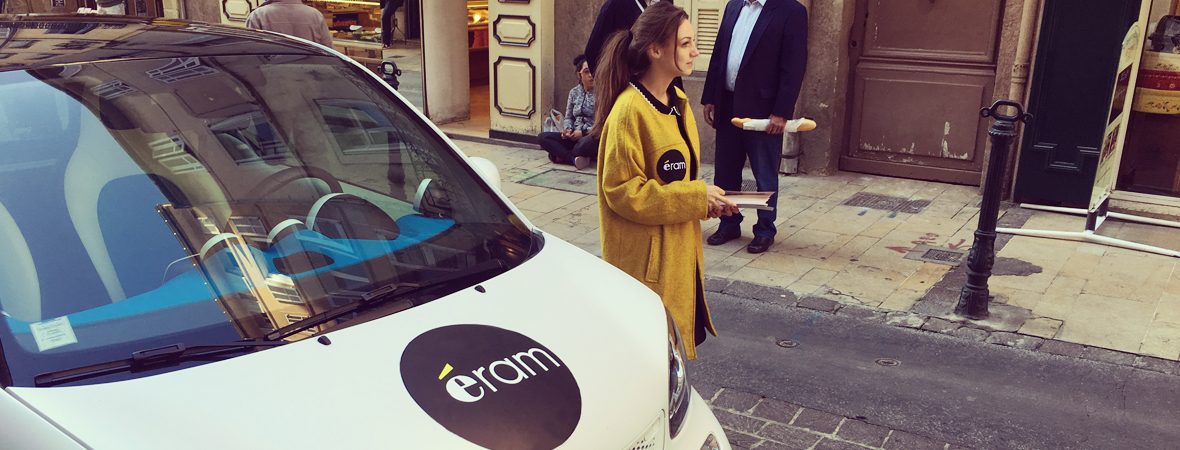 Eram - Street Marketing - NON STOP MEDIA PACA