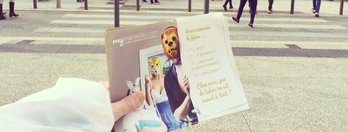 Mymarseille - Street Marketing - NON STOP MEDIA PACA