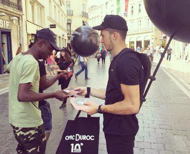 Optic Duroc a 10 ans en street