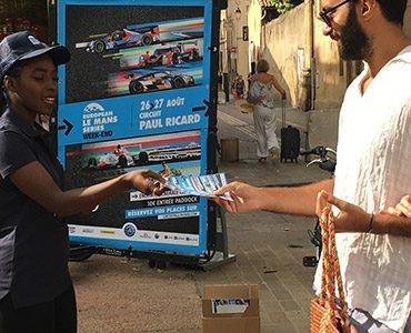 Le Circuit Paul Ricard fait sa publicité