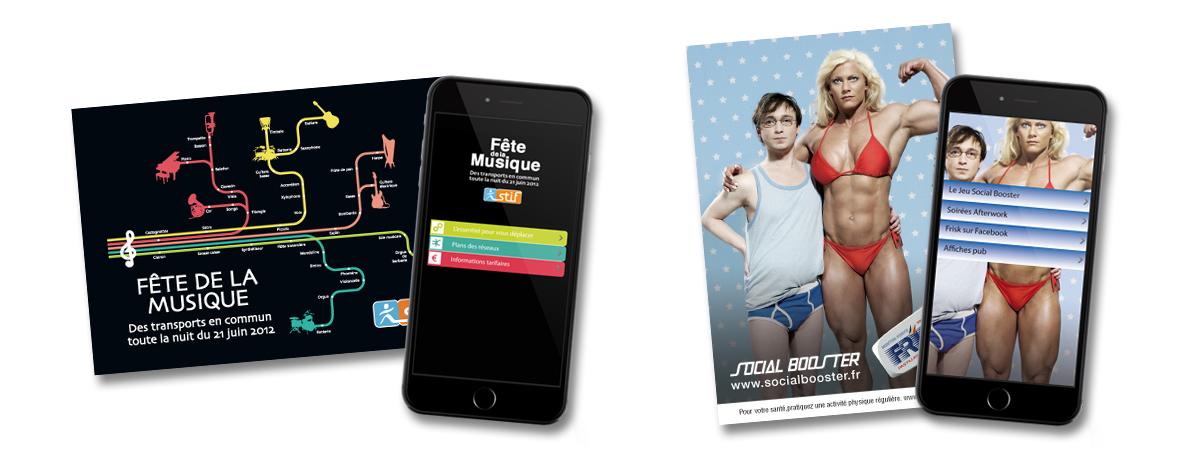 Cart'Com 2.0 : La Smart'Cart - La carte publicitaire gratuite interactive - Cart'Com - NON STOP MEDIA PACA