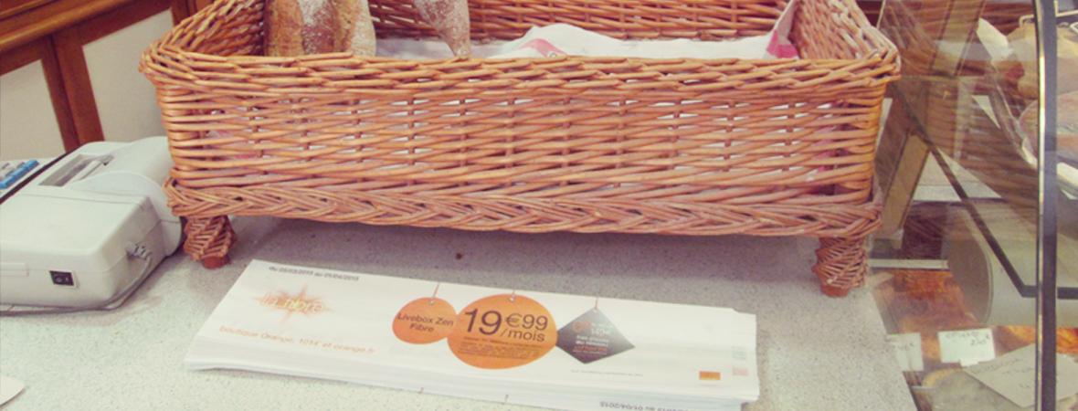 Une communication sac à baguette pour Orange - NON STOP MEDIA Rhône Alpes