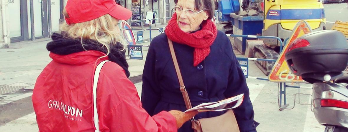 GrandLyon - Street Marketing - NON STOP MEDIA Rhone Alpes