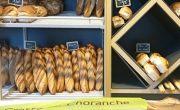 Diffusion de sacs à baguette publicitaires pour Choranche avec NON STOP MEDIA Rhône Alpes